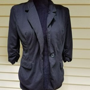 Just ginger black blazer size large